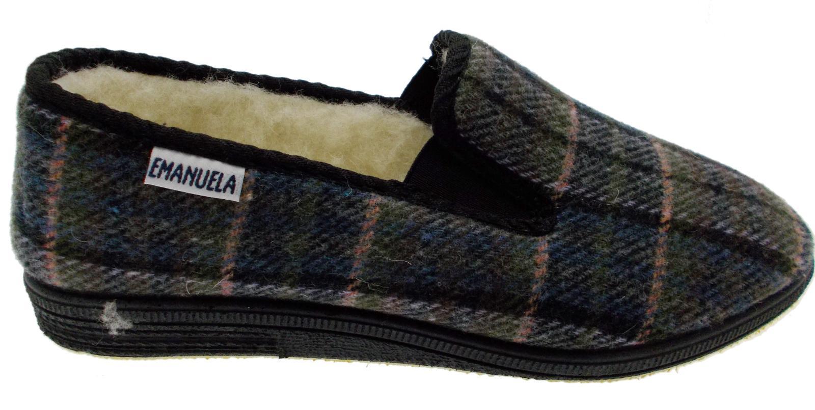 "Hand-made woollen Felt slippers ""SLOOPERS"" size 43 - UK 9"