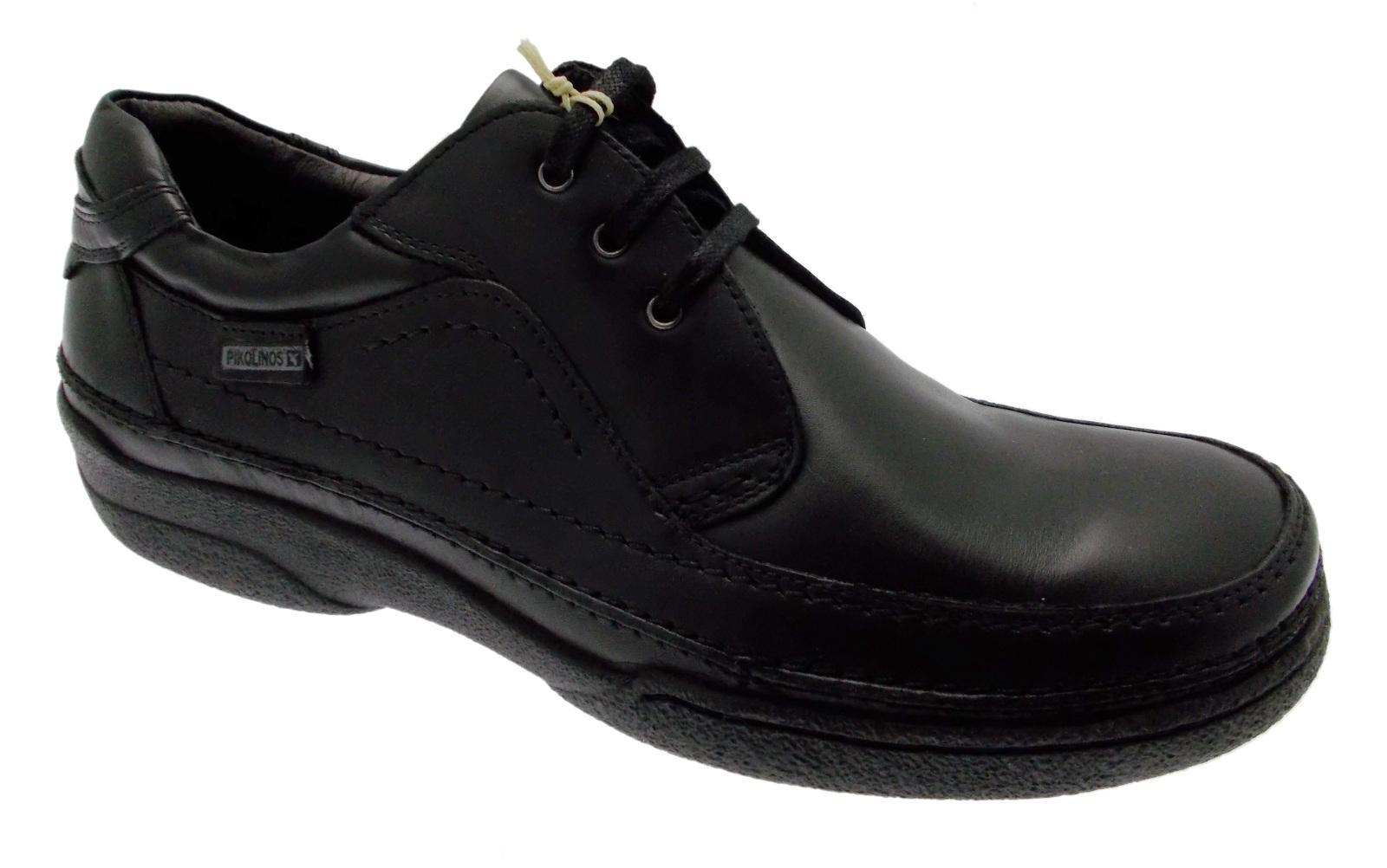 Lacci pelle nero scarpa art 04K-5621 scarpa nero uomo classica Pikolinos 1cd9b0