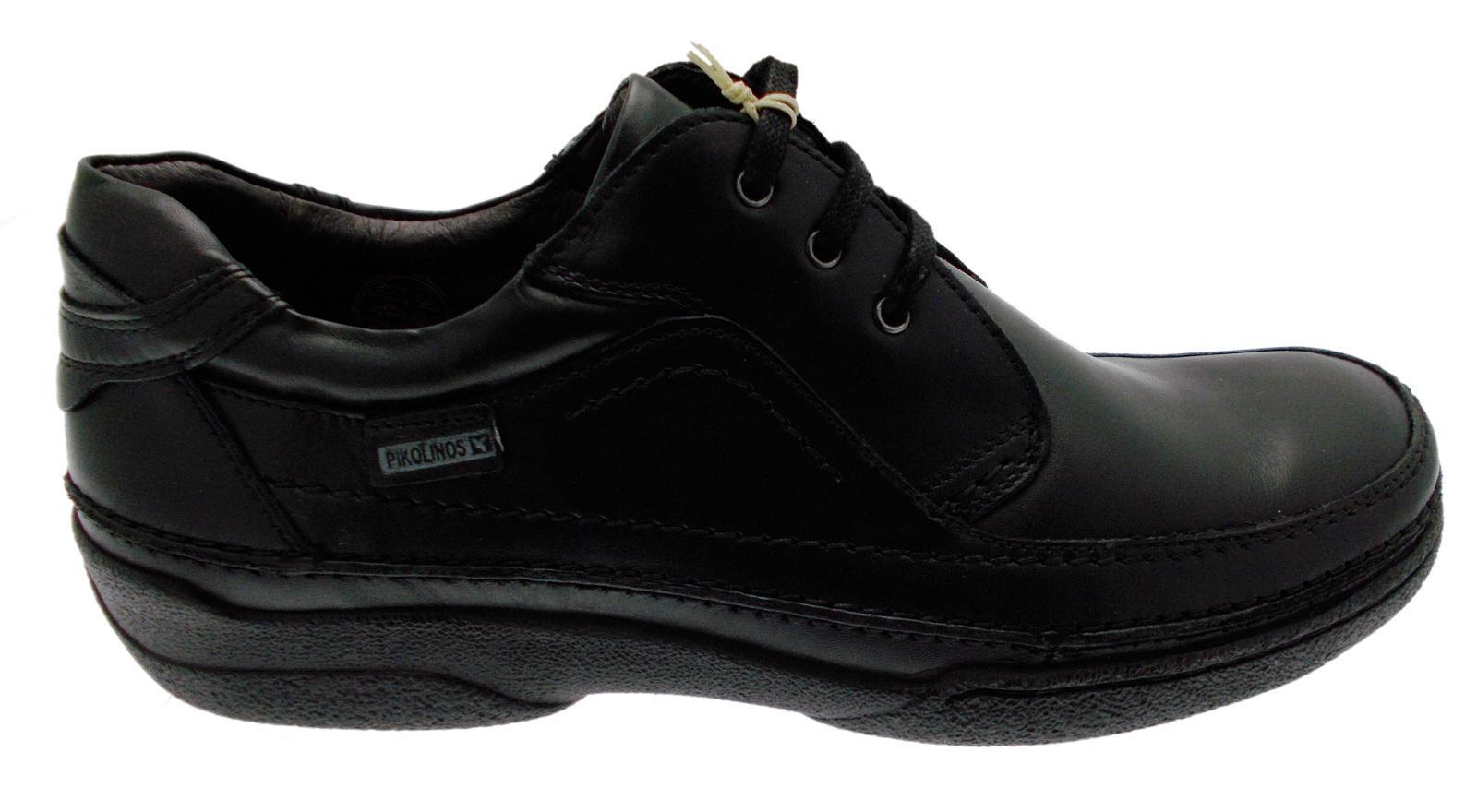 Lacci pelle nero art 04K-5621 classica scarpa uomo classica 04K-5621 Pikolinos feedfa