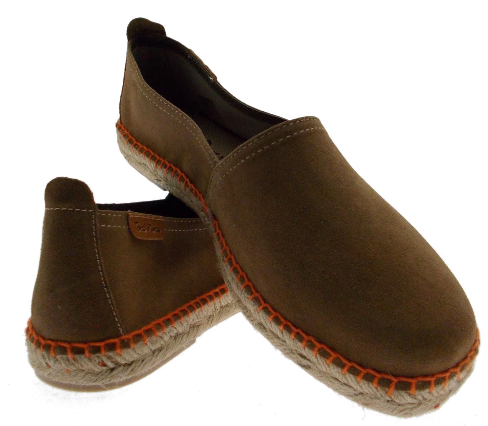 Espadrillas  mocassino  art pantofola camoscio taupe art  DAKAR Toni Pons 7eae45