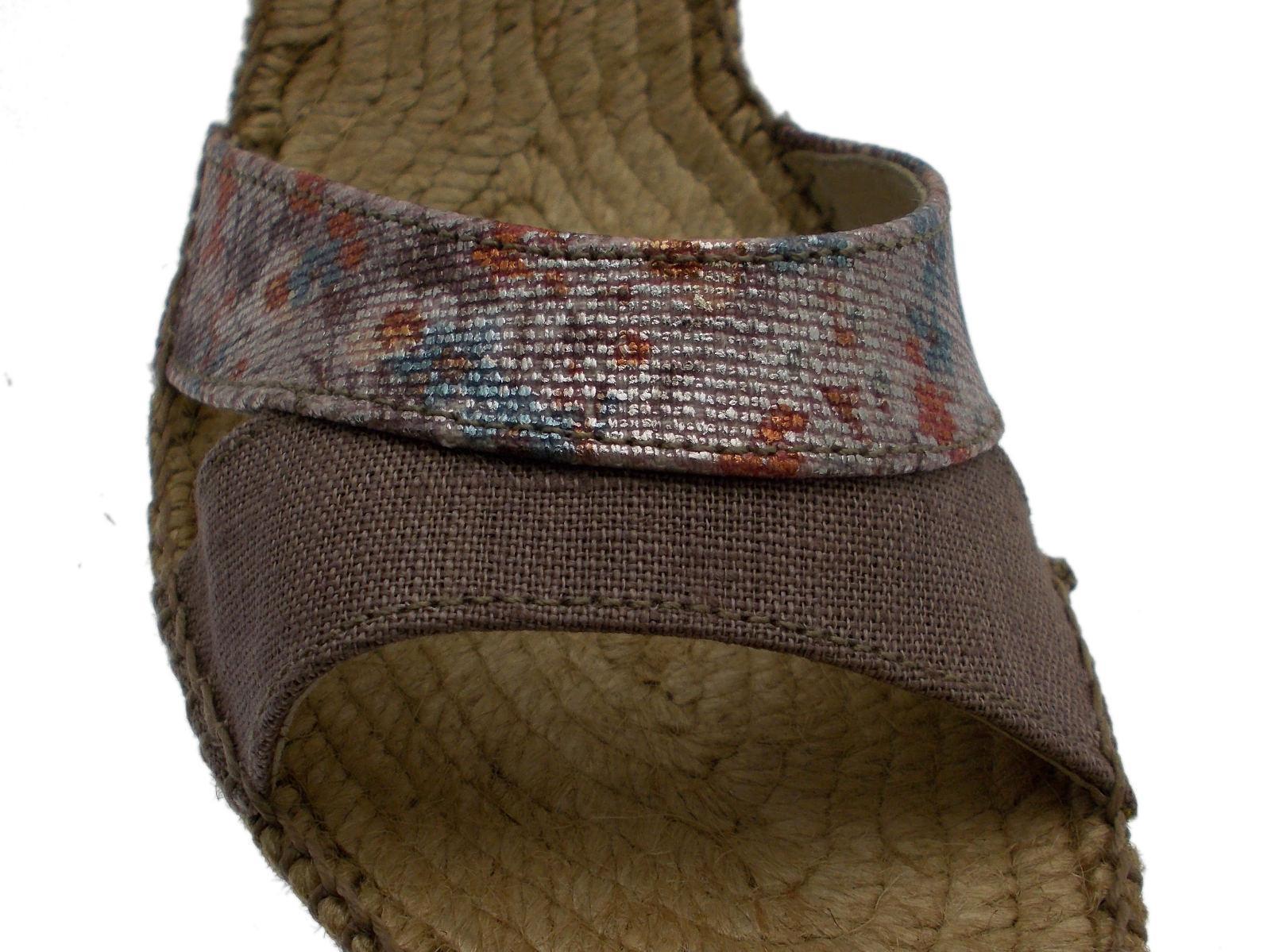 Open Sandale rope taupe Toni taupe wedge Article DORIS Toni taupe Pons 8fe36f