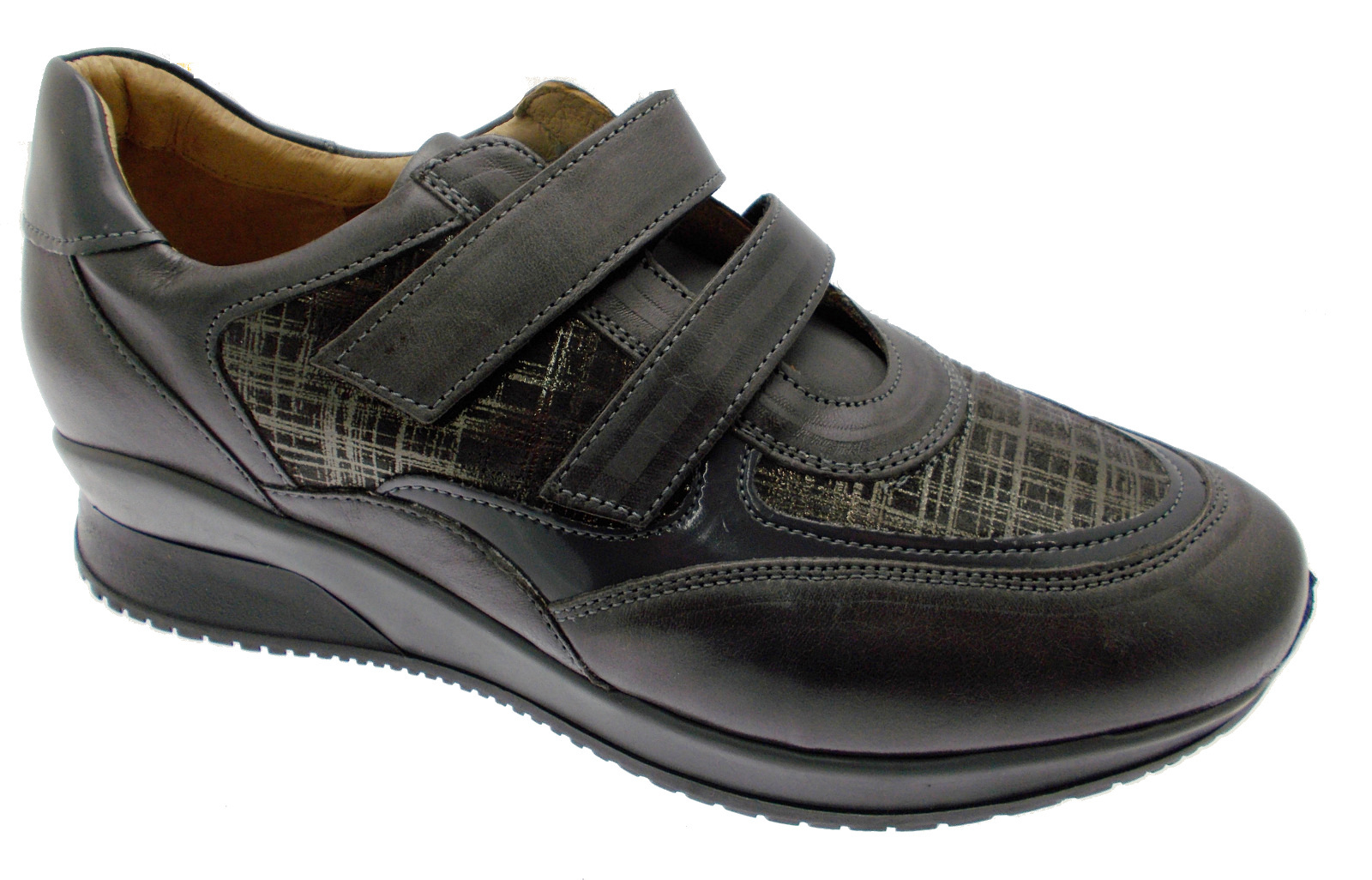 Art C3720 scarpa donna ortopedica  grigio  sneaker Loren