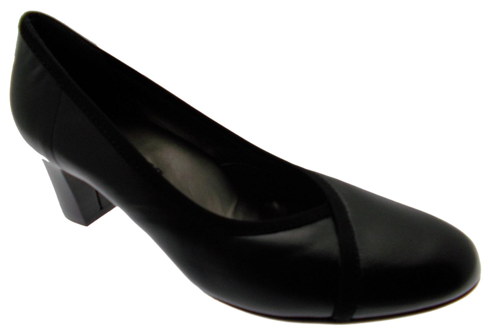 article d5077 court shoe leather classic black melluso ebay