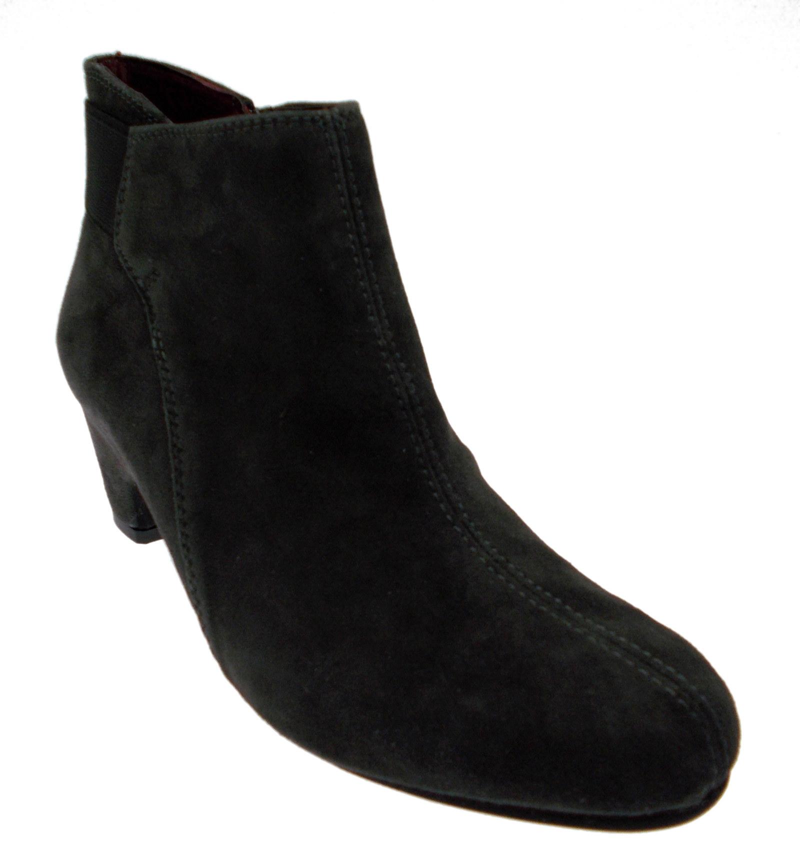 design di qualità f16e7 19d79 Articolo h1127 Stivali in pelle scamosciata grigio cerniera Melluso | eBay