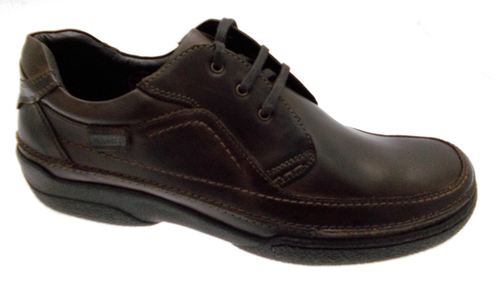bruin lederen veters art 04K-5621 classic shoe man Pikolinos