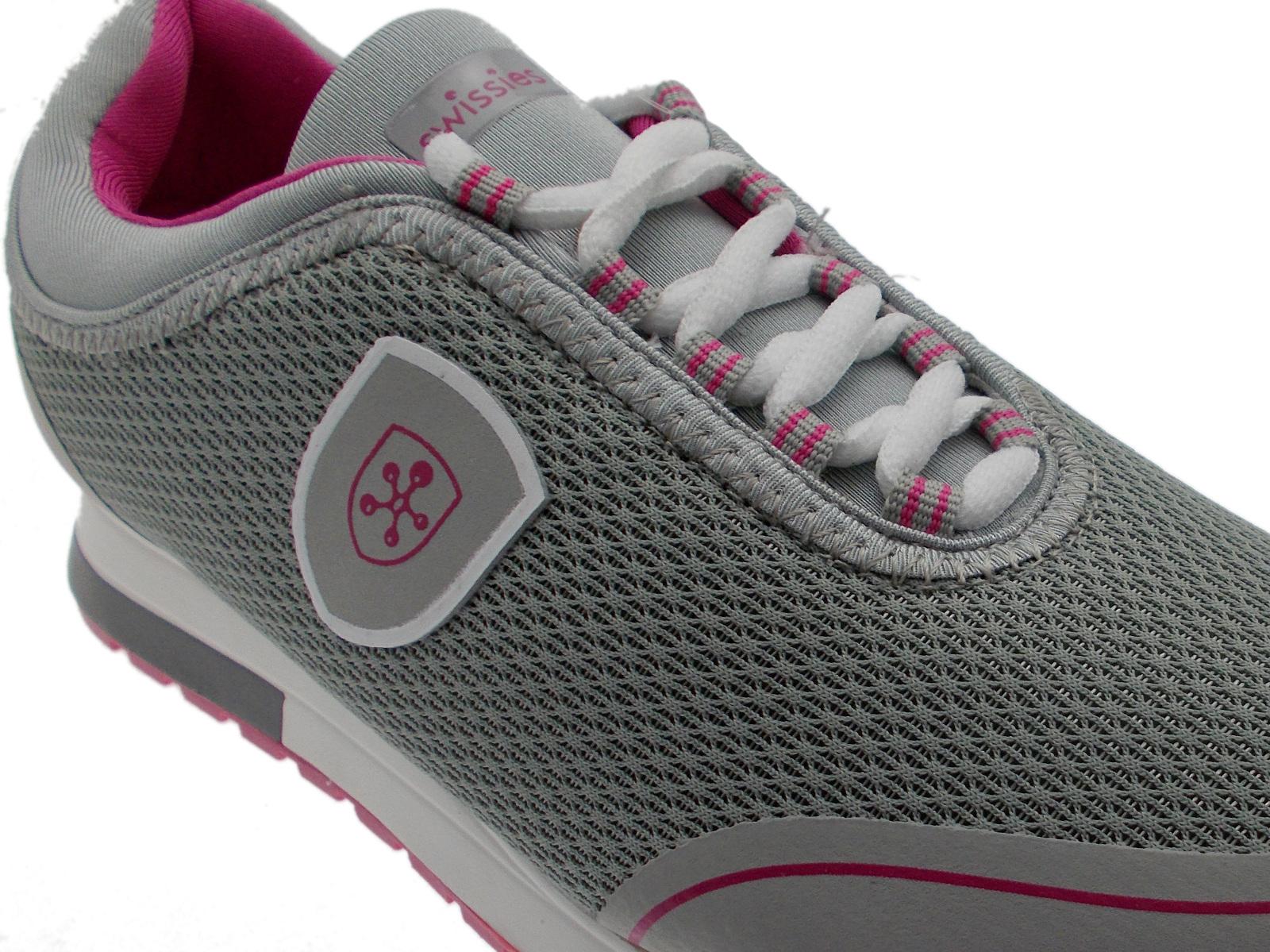 Swissies Sneaker Grigio Lacci Donna Tennis Art Scarpa Giada 6q5Zgw0