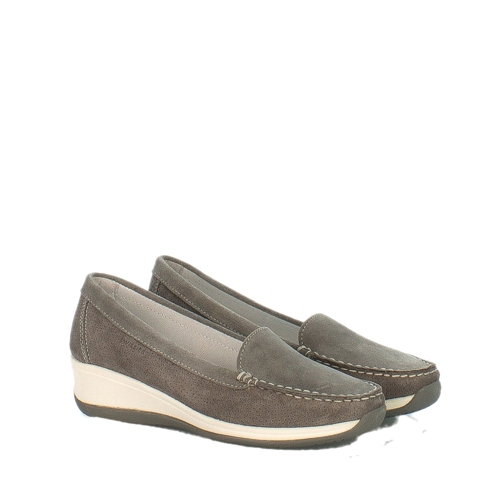 moccasin suede shoes wedge dove swissies