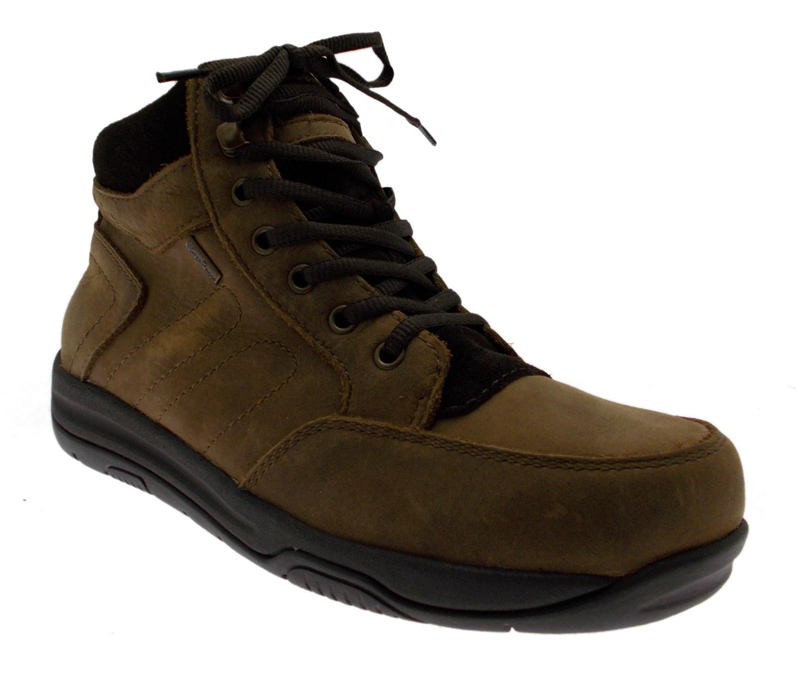 art MAKO polacchino nabuk marrone scarpa uomo Swissies Scarpe classiche da uomo