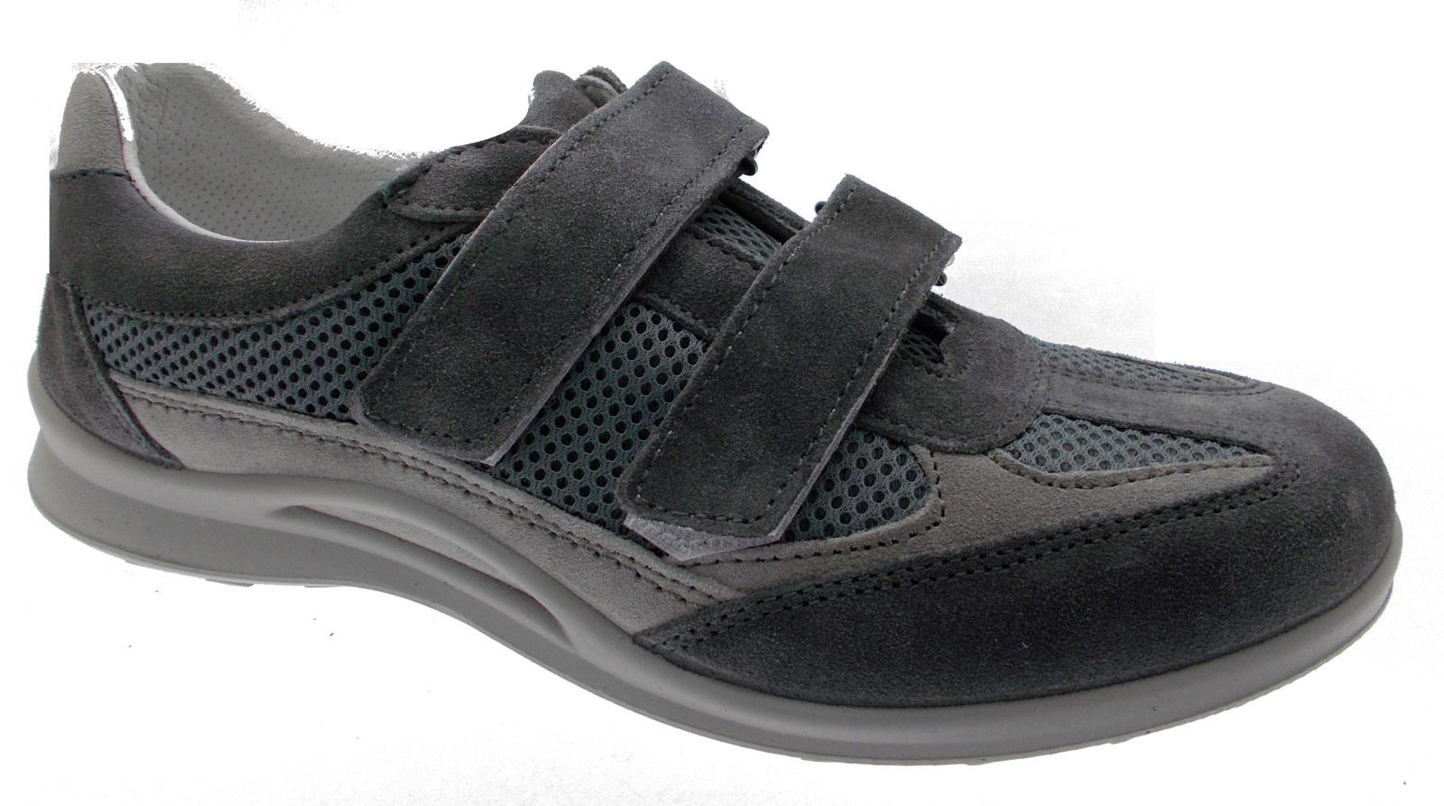 G0300 Goretex grijze sneaker schoen orthopedische plantaris man loren