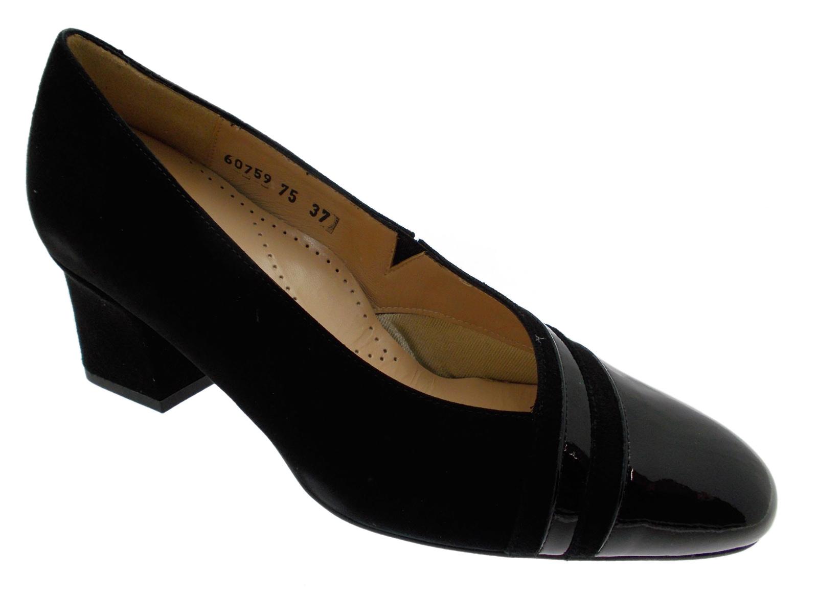 Image is loading 60759-black-camouflaged-orthopedic-painted-boots-Loren
