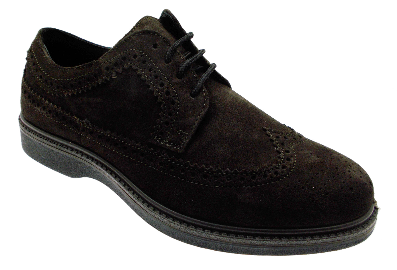 G0292 English brown laces shoe orthopedic orthopedic man Loren