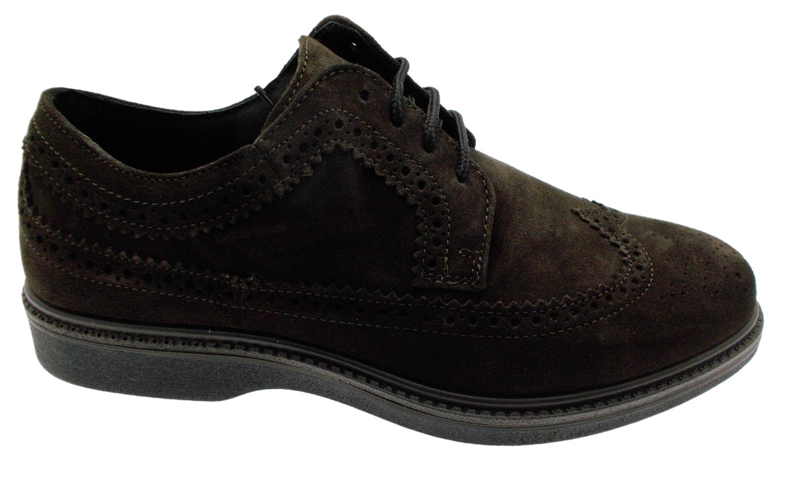 G0292 Engels bruine veters Orthopaedic Foot Man Loren