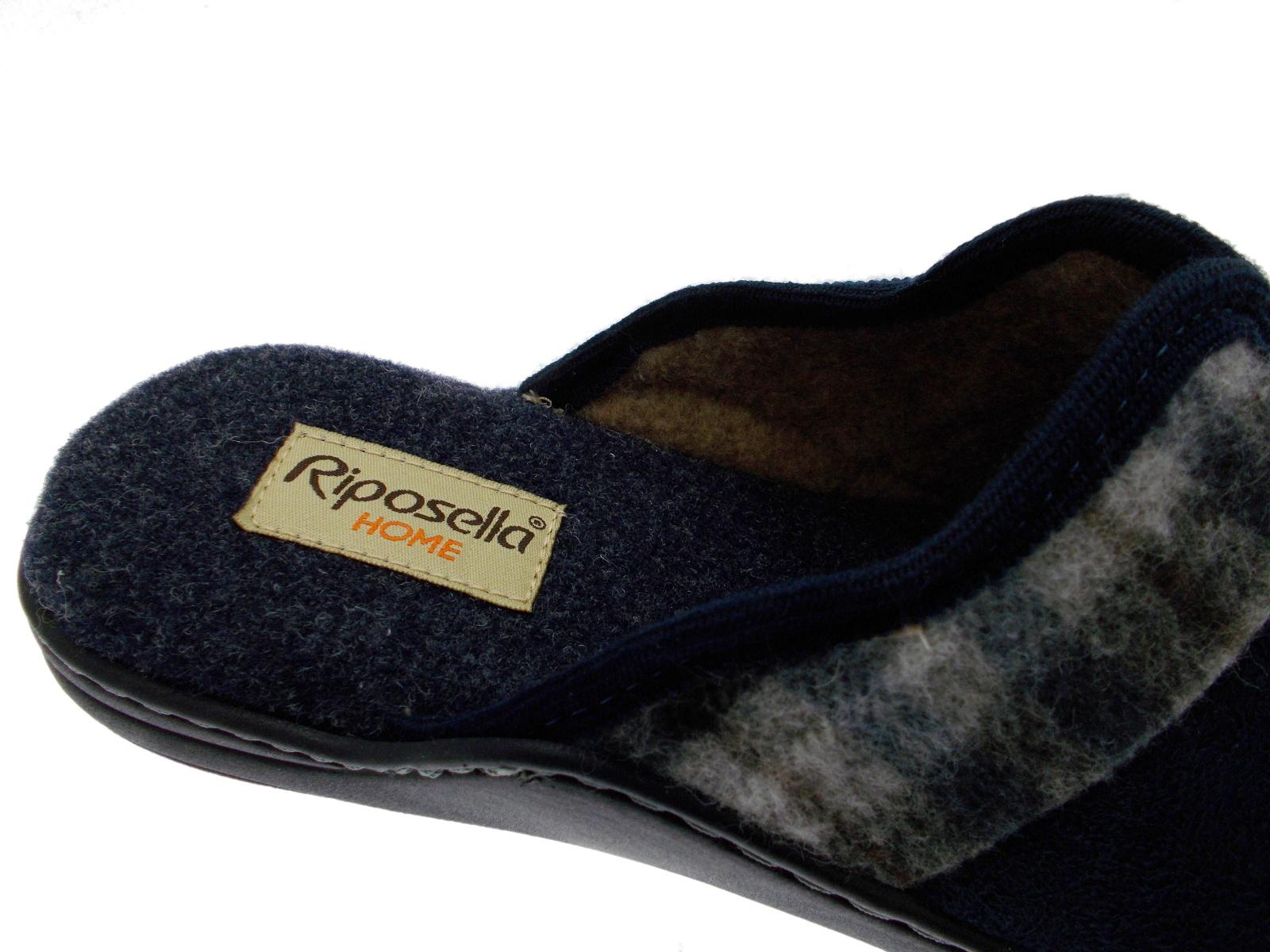 bleu Riposella Sabot homme 9904 Slipper pour plantaire mémoire zwqnCS