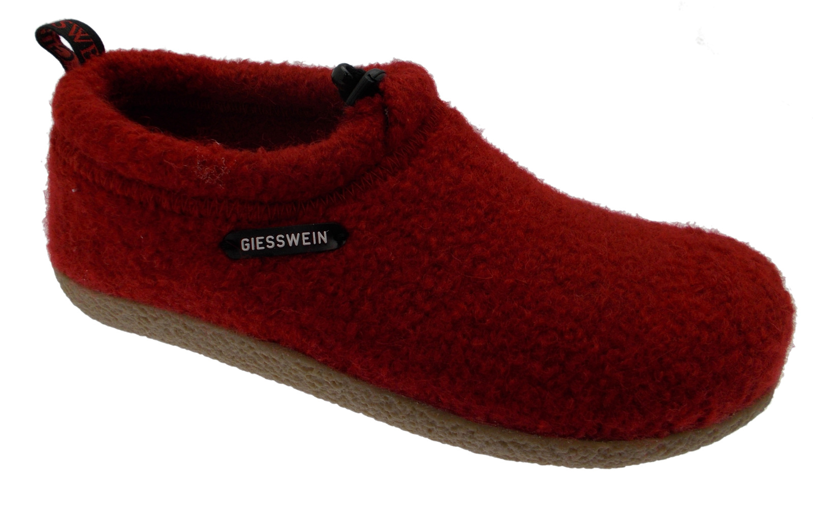 52 10 47849 017 VENT unisex slipper red removable foot cloth Giesswein