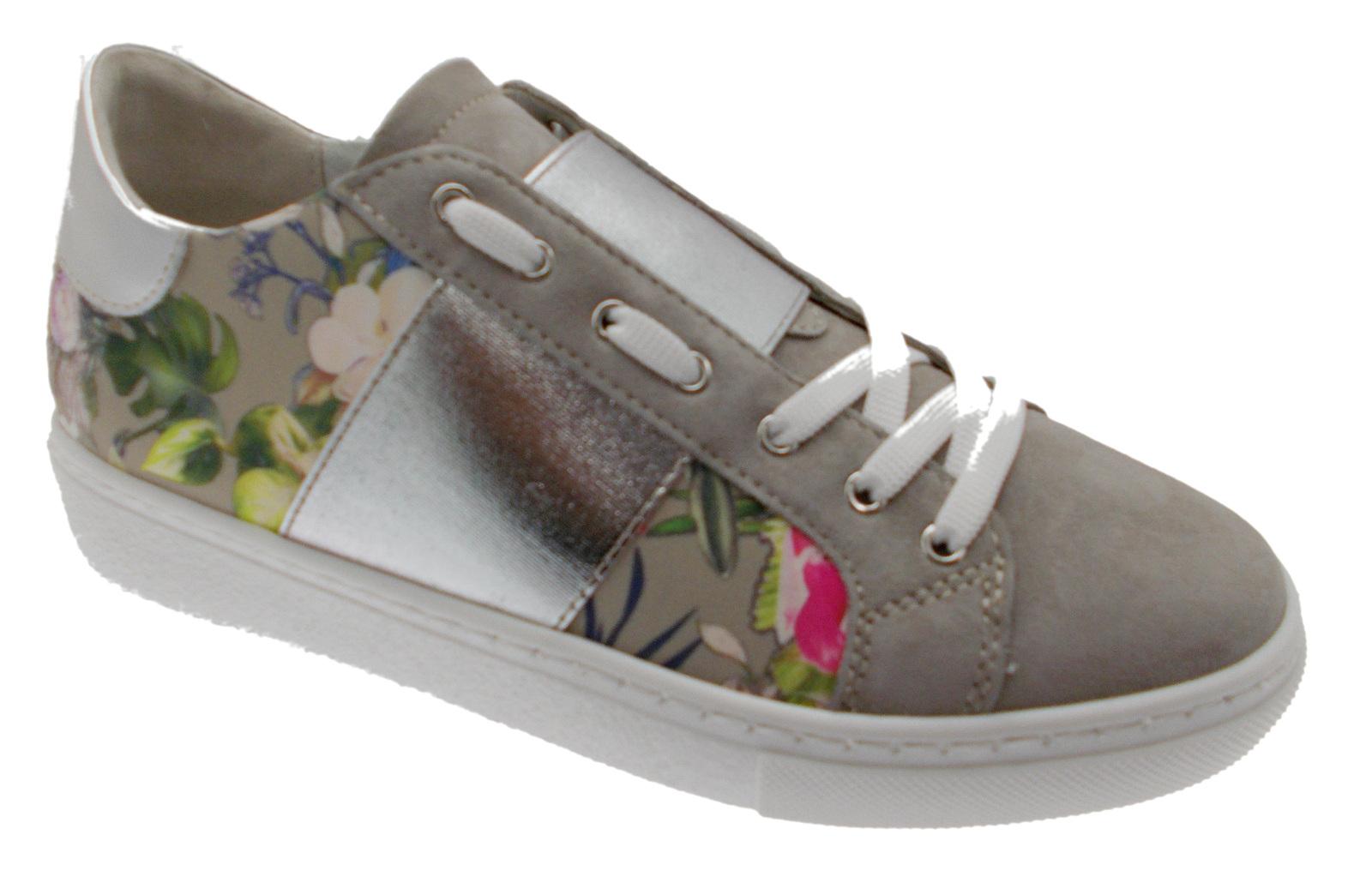 C3785 woman shoe sand flowers orthopedic removable plantar sneacker Loren