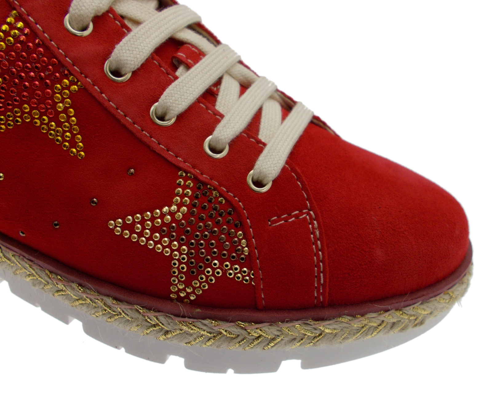 Estrella Mujer C3786 Loren extraíble Rojo Zapato Sneacker Ortopedia Plantilla xFF6n751w