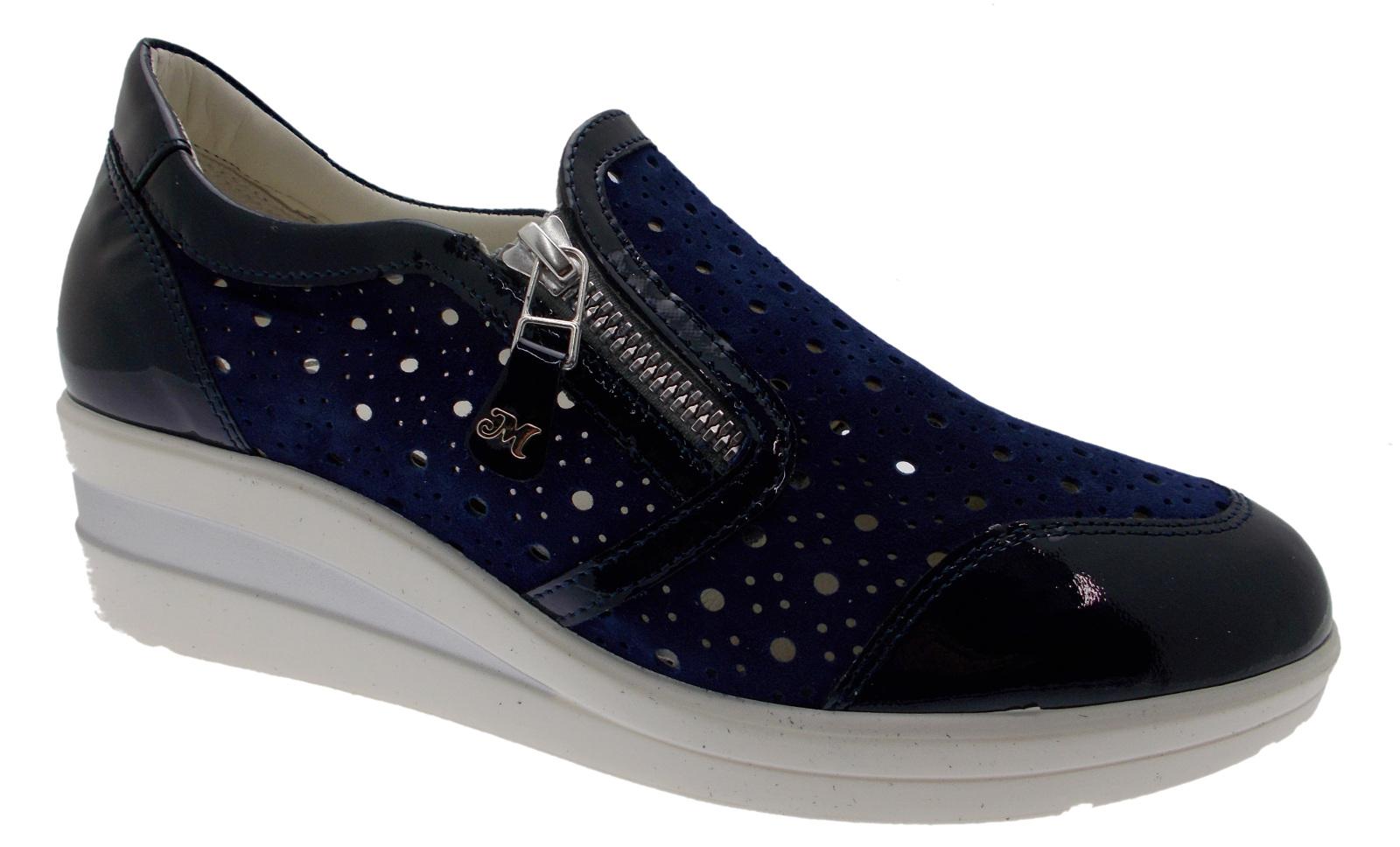 R20166 blu cerniera plantare zeppa scarpe da ginnastica Melluso | Prestazione eccellente  | Uomini/Donna Scarpa