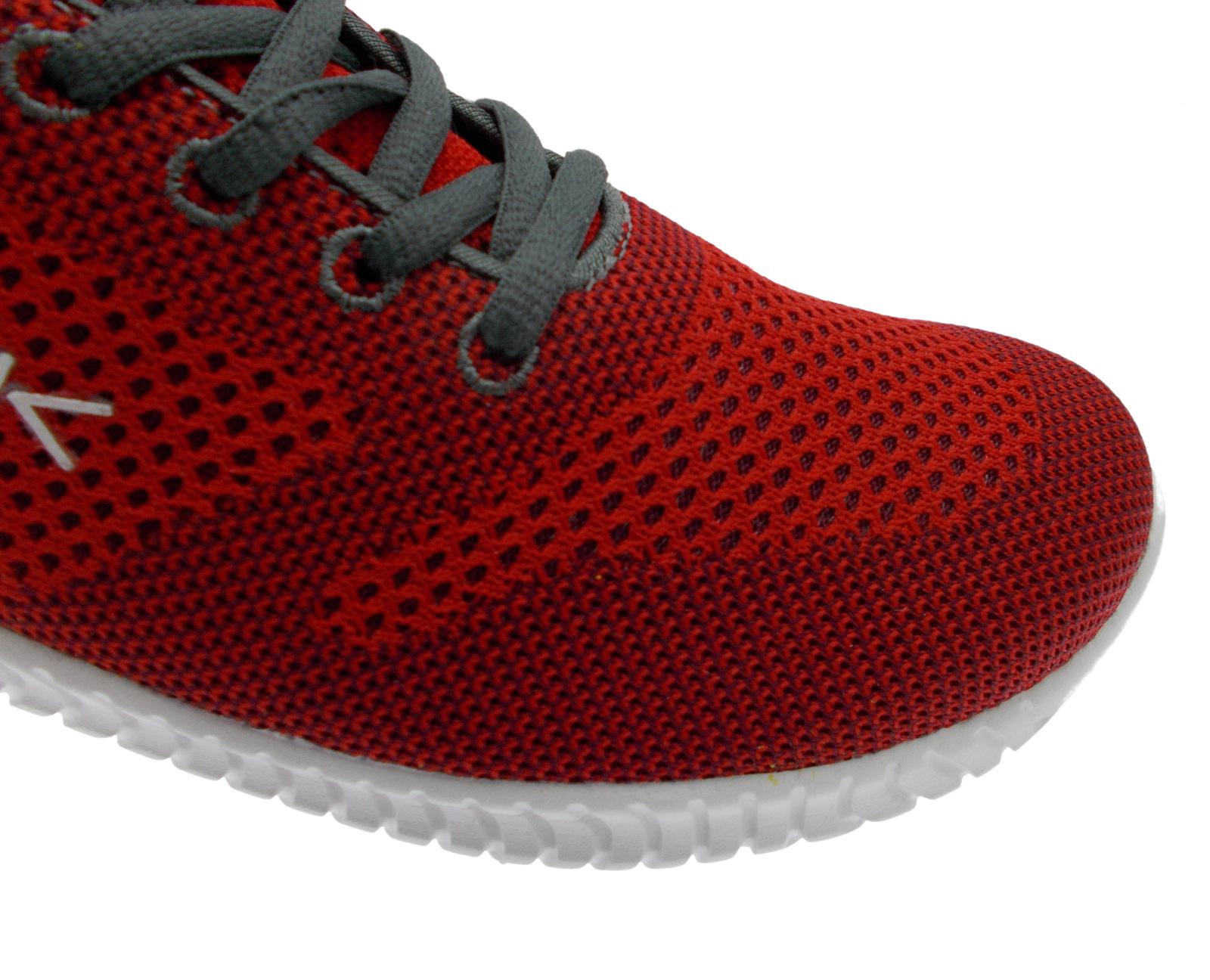 L10-S302A  sneaker rosso plantare memory form PE4K