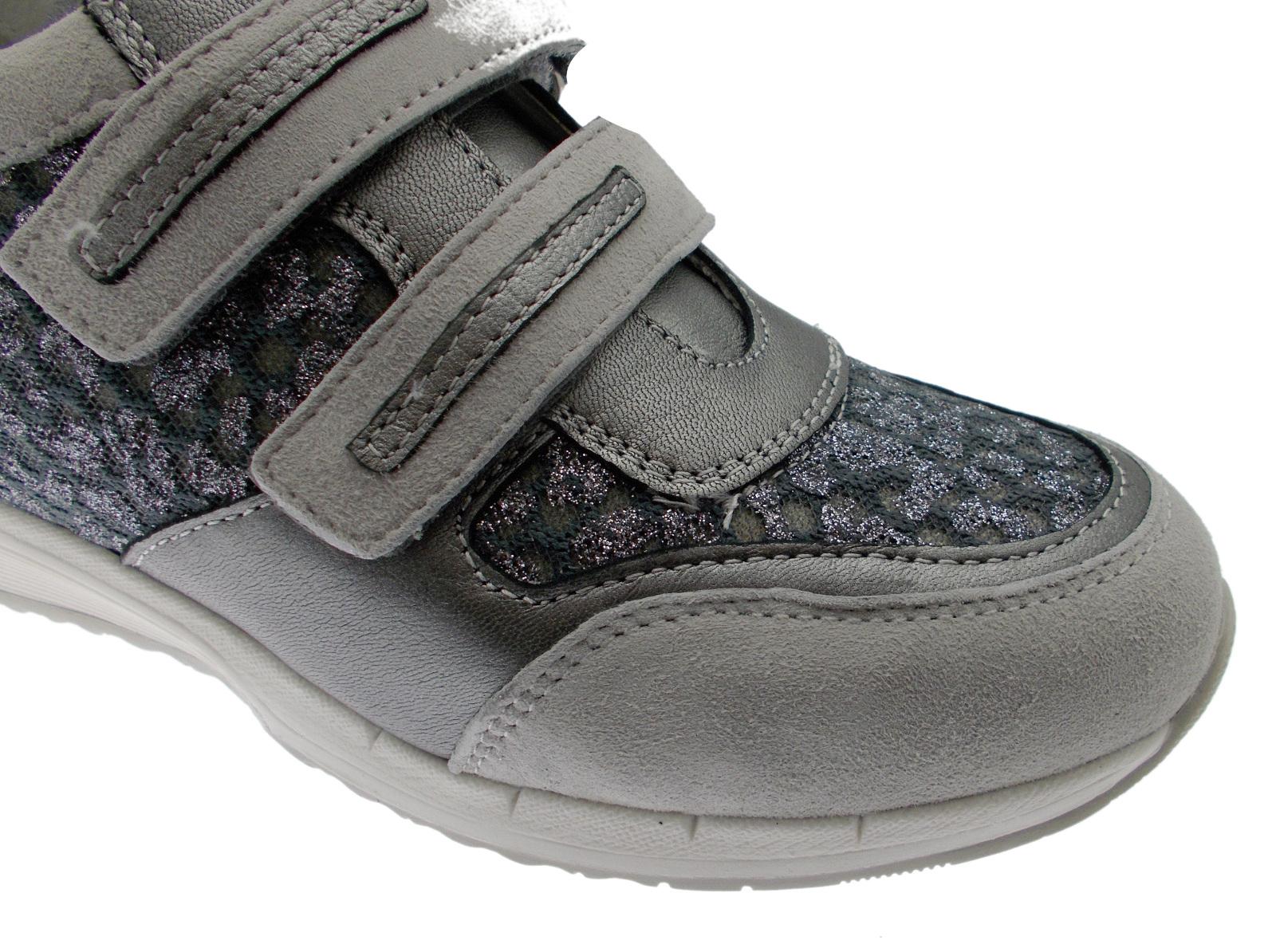 C3794 velcro gray orthopedic footbed sneaker prepared Loren