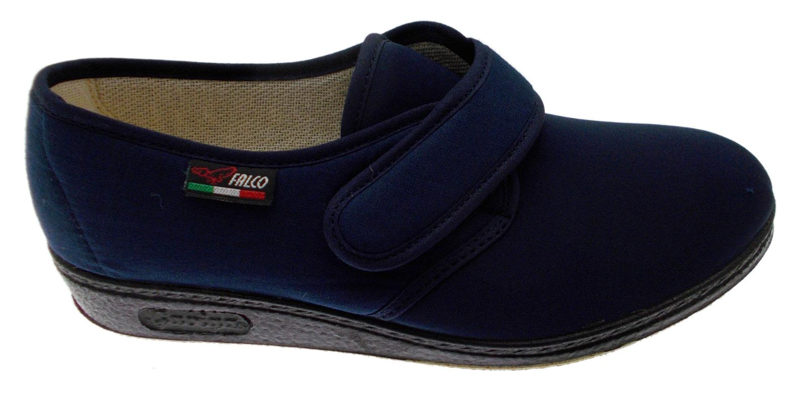 Fisioterapia Articolo Extra Slipper Blue Cotton Large 193 Gaviga Velcro Stretch n44qIZ