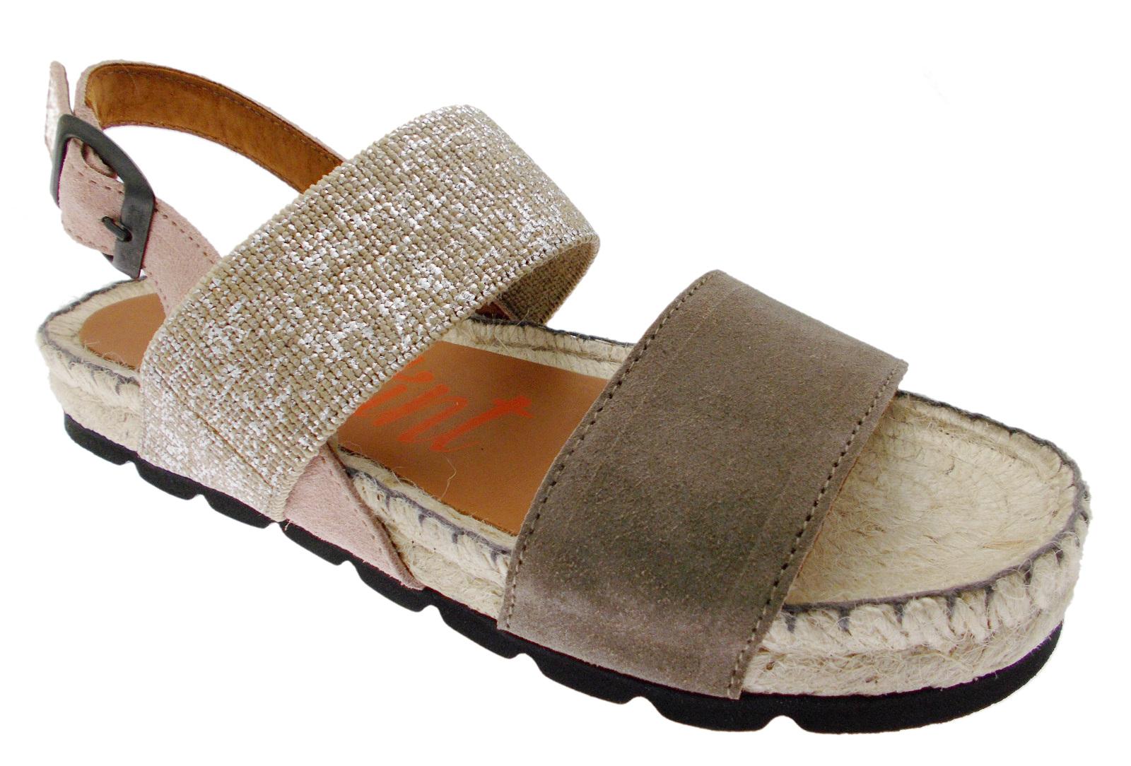 I-201SI espadrilles de sandales de corde de taupe Toni Pons
