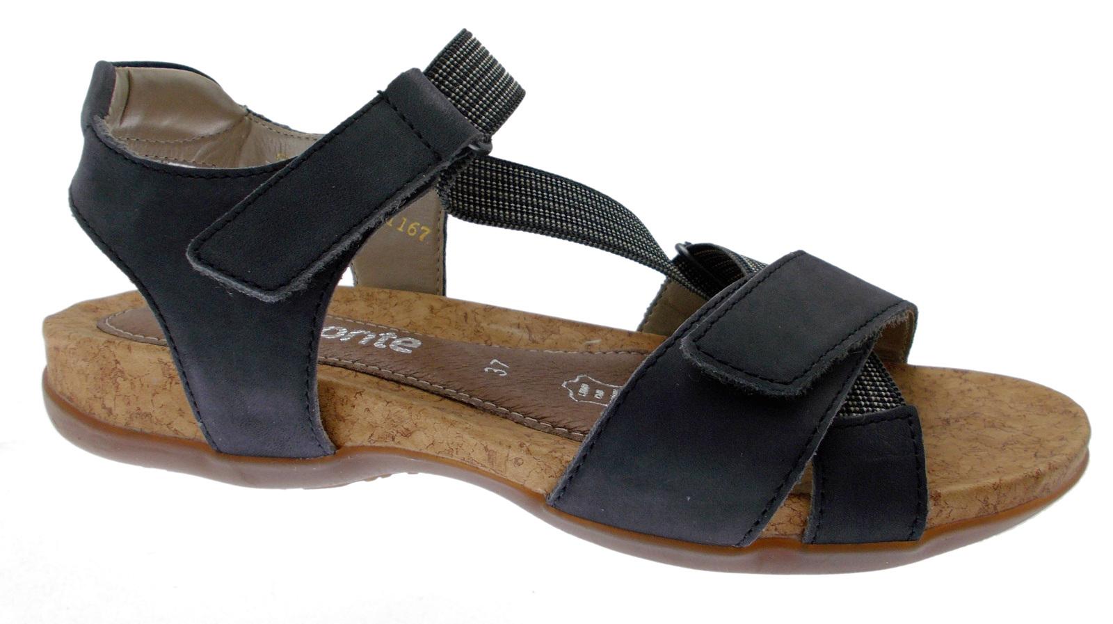 Memory Plantare Sandalo 14 R3257 Strappo Blu Remonte Donna Soft XBnq0