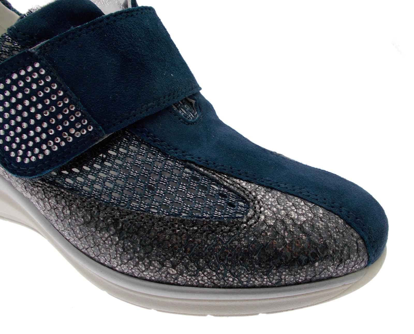 76221 sneaker Azul plantare strappo strappo plantare Riposella 137022