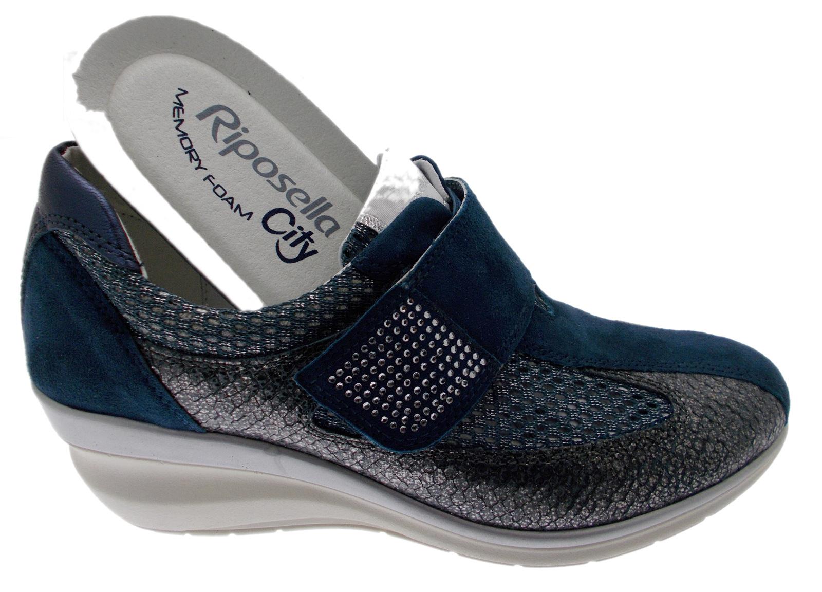 Strappo Sneaker Plantare Blu 76221 Riposella qx0R6t6w