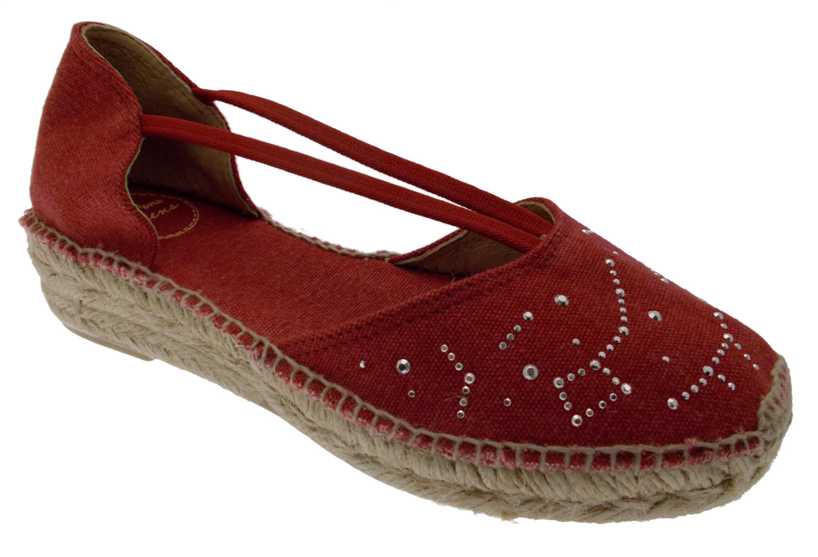 Erla-TR rouge Sandale Espadrilles Chaussures Toni Pons