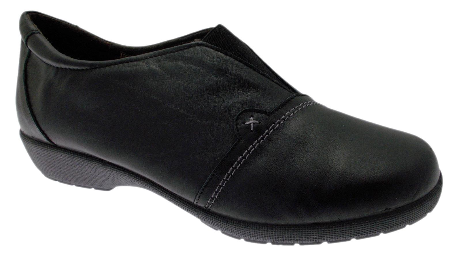 41502 scarpa memory donna accollata nera plantare memory scarpa form Doctor Cutillas 19575d