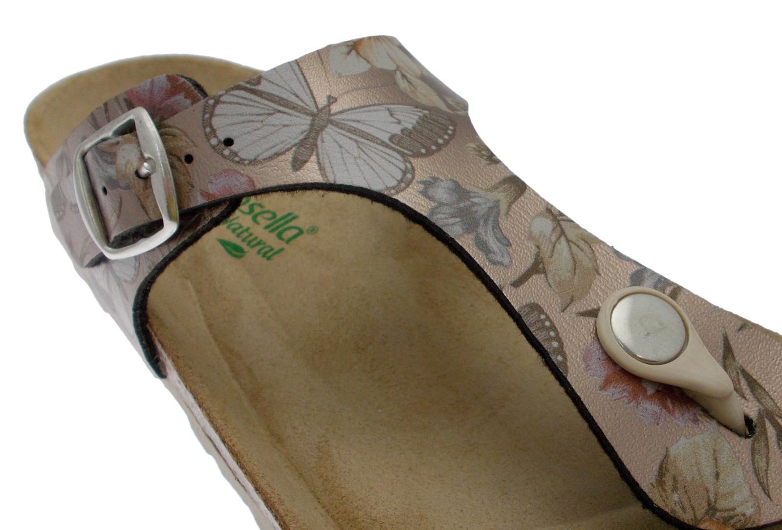 19226 anatomical fantasy flip flops bronze Riposella