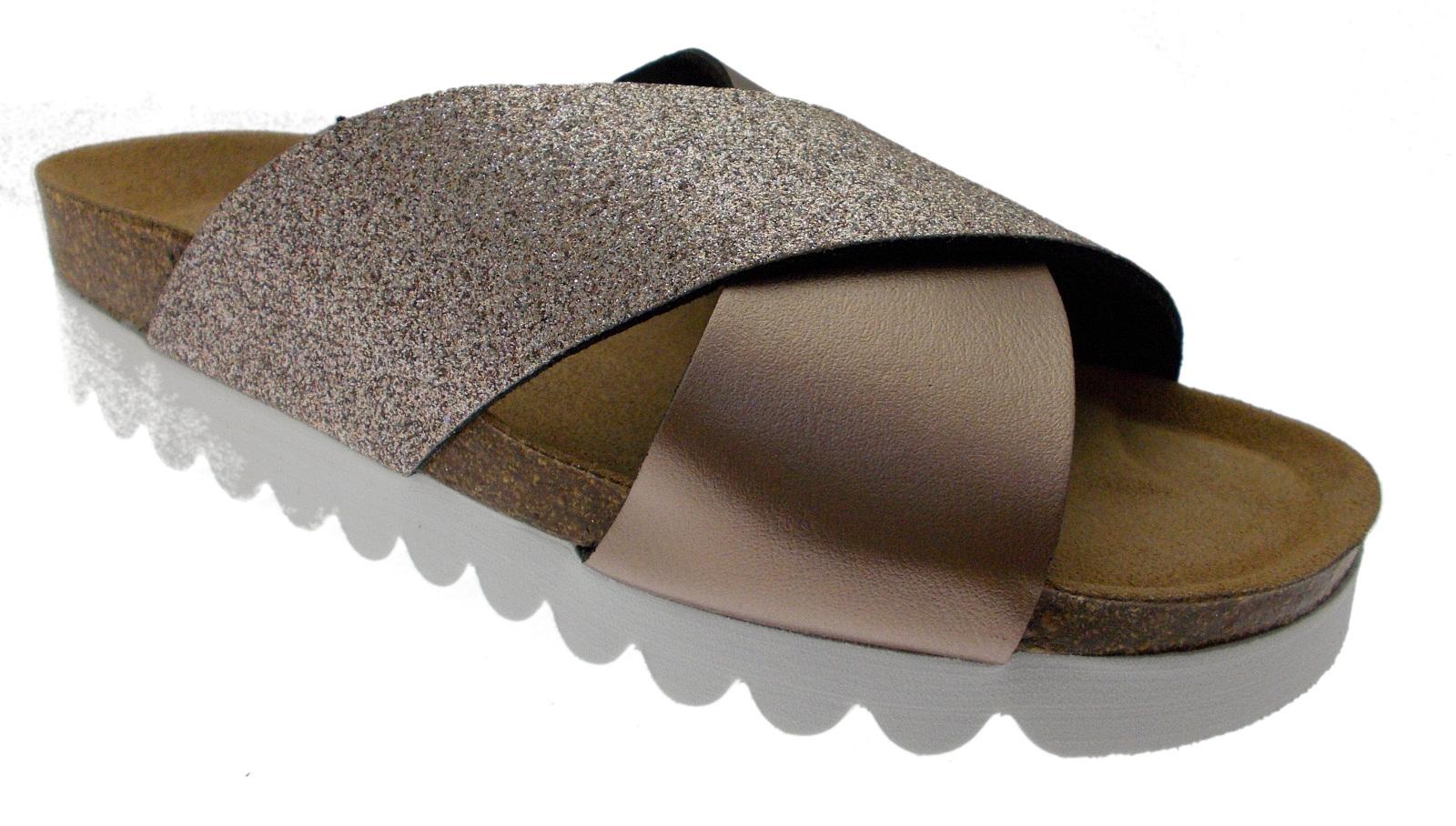19261 slipper sabot open bronze Riposella