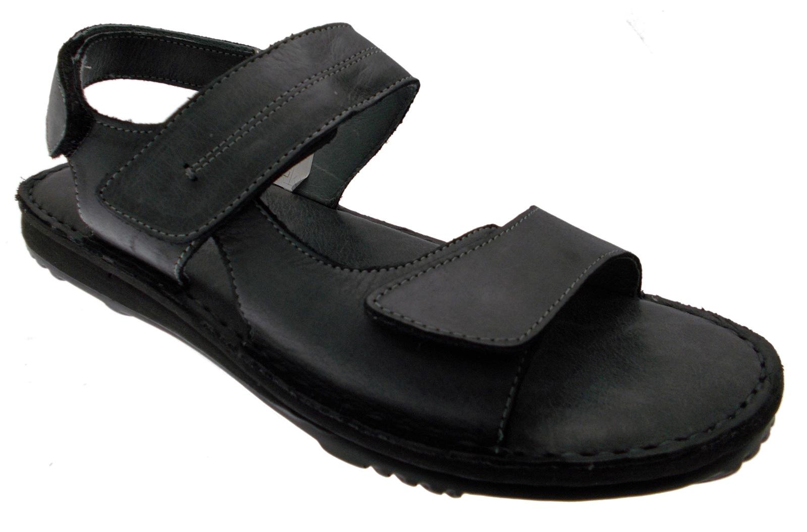 50254 sandalo  nero grigio plantare memoria regolabile Uomodo di Riposella  ottima selezione e consegna rapida