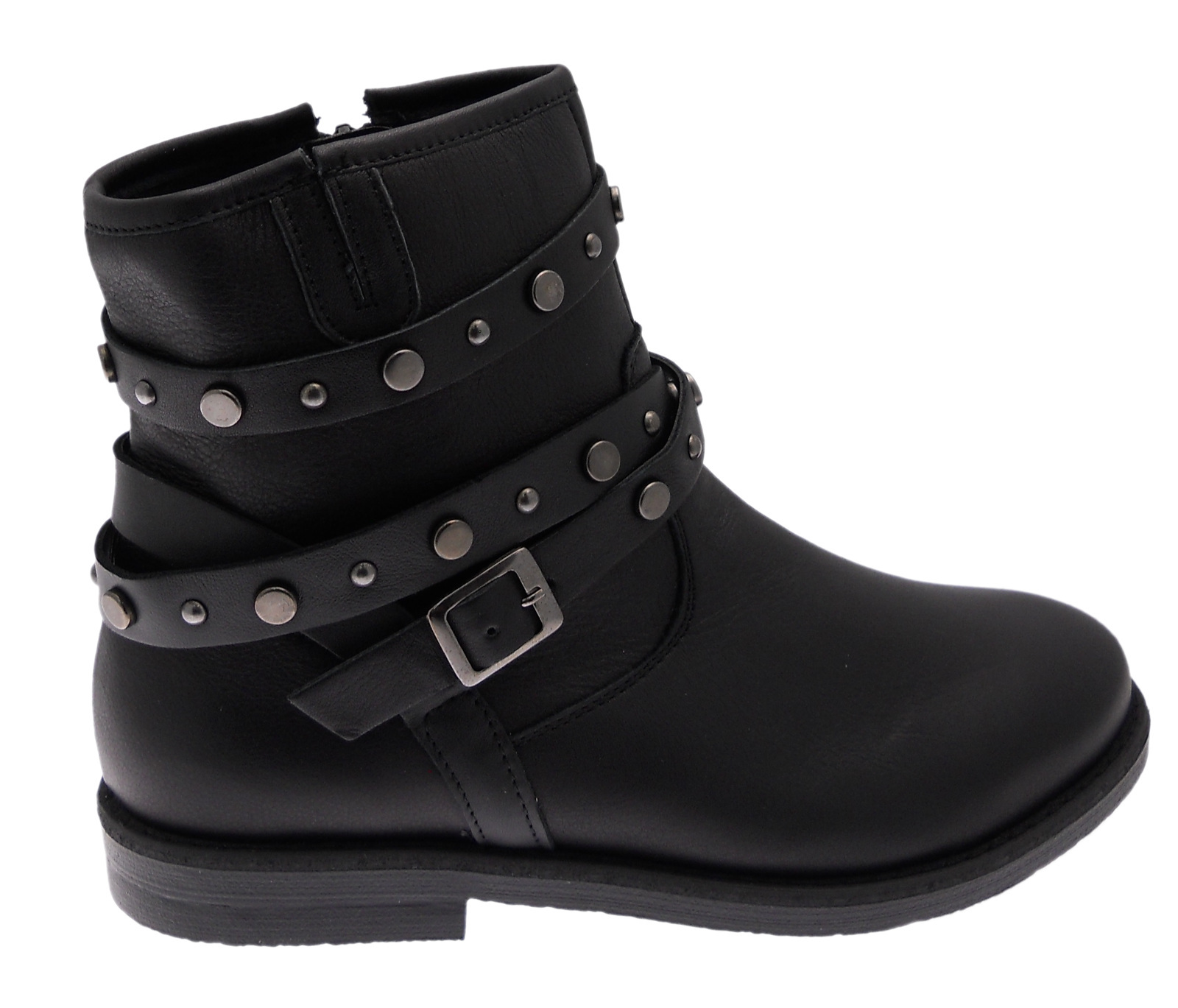 C3827 boot boot black orthopedic arches studs Loren