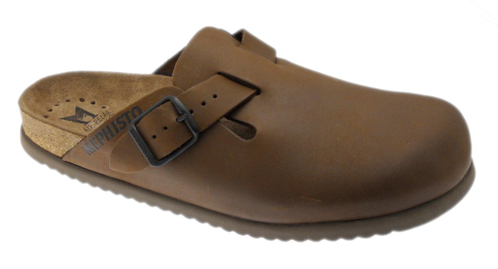 MEPHISTO NATHAN Slipper Zapatillas con forro marrón Mephisto